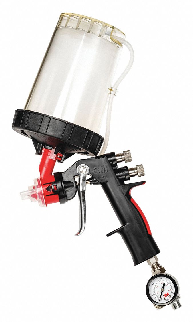 13 cfm @ 20 psi Spray Gun Kit; For Use With 3M(TM) PPS(TM) Type H/O Pressure Cups