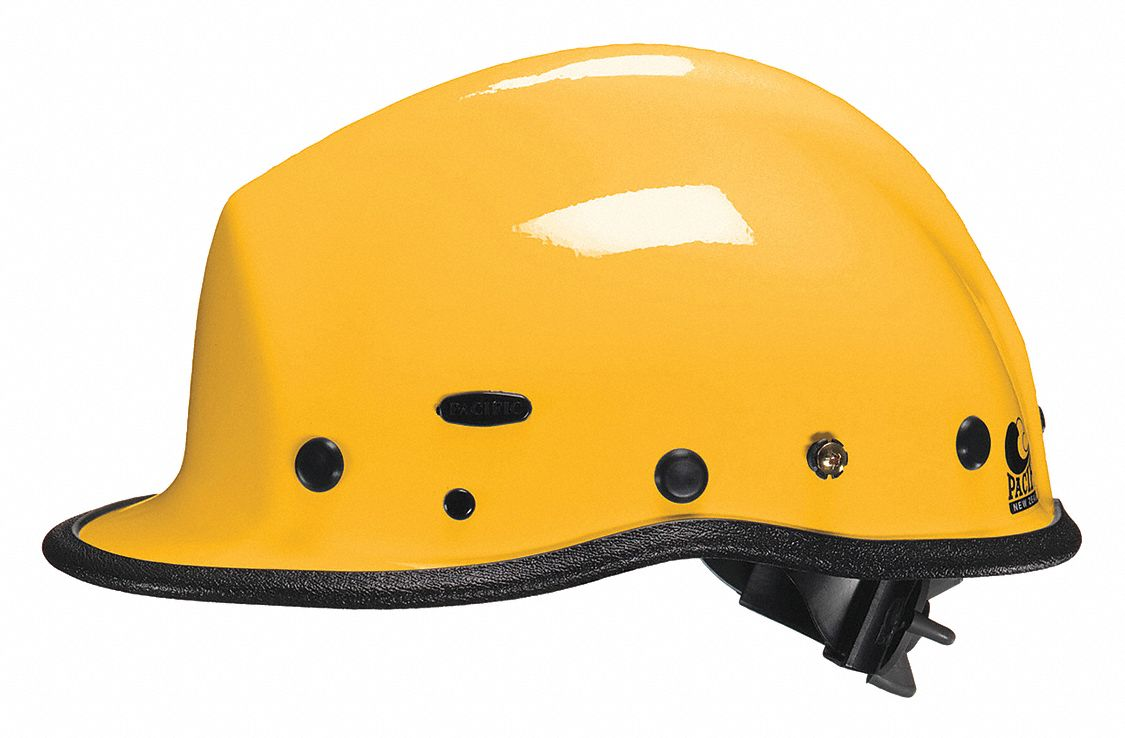 Yellow Rescue Helmet, Shell Material: Kevlar(R) Composite, Yes Suspension, Fits Hat Size: One Size F