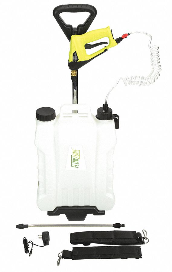 Sprayer, 0.2 gpm Flow Rate, 45 PSI