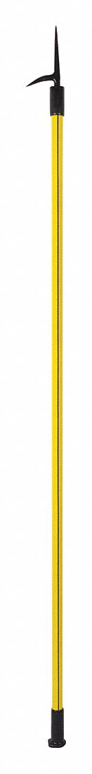 Pike Pole,  10 ft Handle Length,  Steel Head Material,  Butt Handle Design
