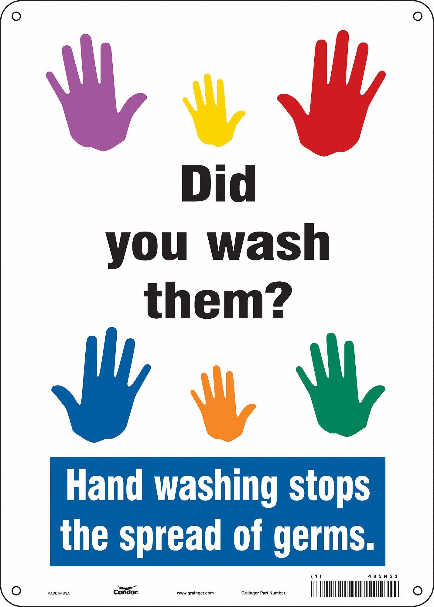Handwashing Signage
