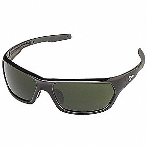 Anti-Fog Safety Glasses, Green Lens Color