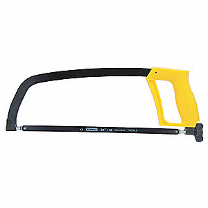 Hacksaw,17-3/4 in L,24 TPI,Ergonomic