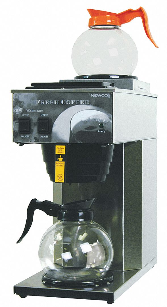 4 gal Stainless Steel Pourover Coffee Brewer, Stainless Steel