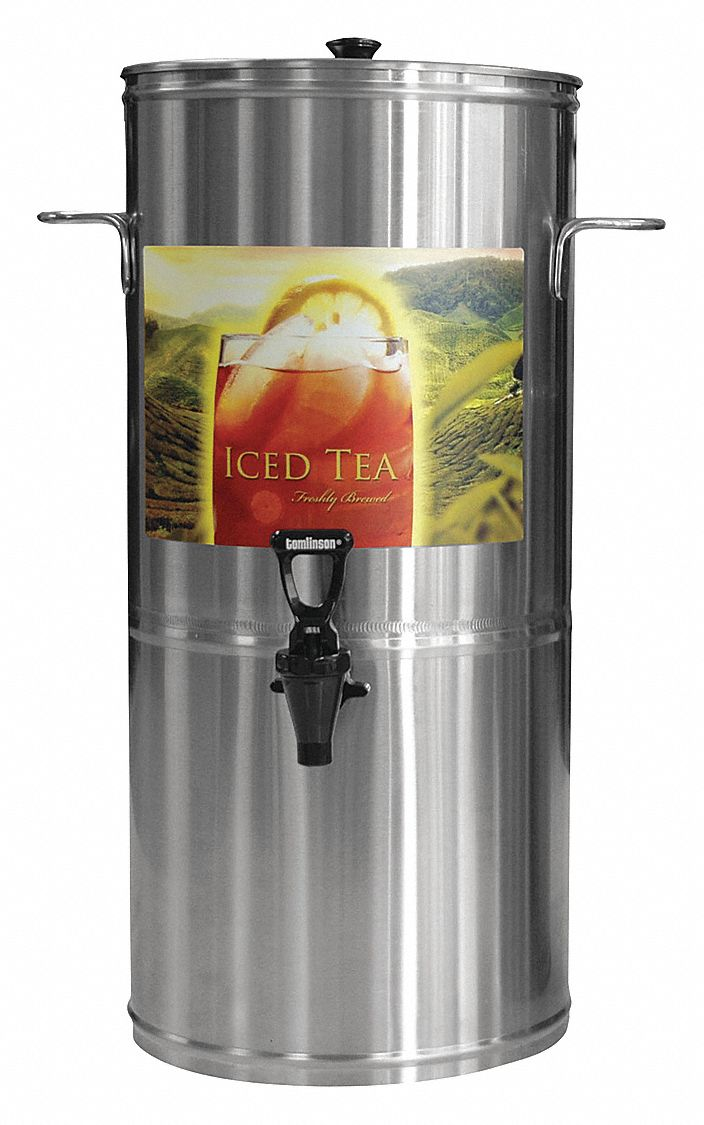 5 gal Commercial Beverage Dispenser, Stainless Steel