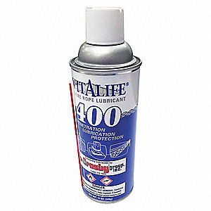 Lubricant,Brown,12 oz.,Aerosol Spray