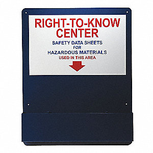 Right-To-Know Center, Alum, Red, Blue/White