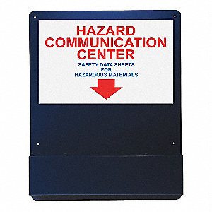 Hazard Communication Center,24 in. W