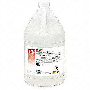 Bathroom Cleaner,Bottle,1 gal.,Fresh,PK4