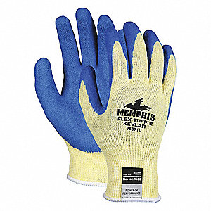 GLOVE,KEVLAR,YELLOW/BLUE,S