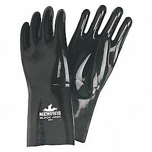 GLOVE,WHITE /BLACK,L 14IN,NEOPRENE,LARGE