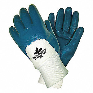 Chemical Gloves,S,11 in. L,Nitrile,PK12