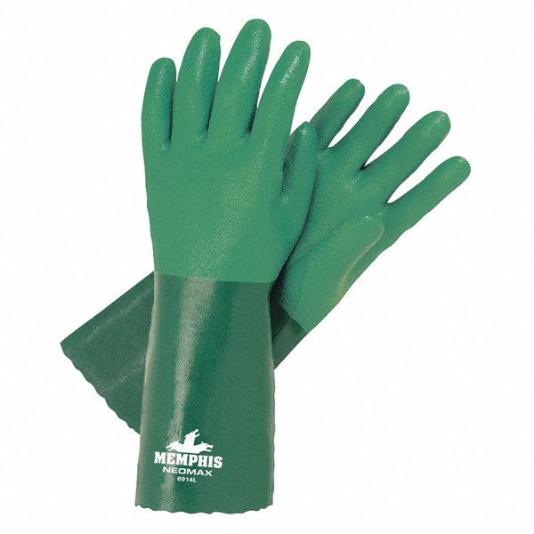 Mcr Safety 11 00 Mil Neoprene Chemical Resistant Gloves