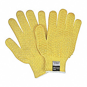 Cut Resistant Gloves,3,M,Yellow,PK12