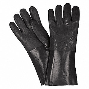 GLOVE,BLACK,L 14IN,PVC,LARGE