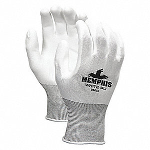 GLOVE,WHITE,KNIT WRIST,S