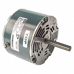1/8 HP Condenser Fan Motor, Shaded Pole, 1050 Nameplate RPM, 115 VoltageFrame Non-Standard