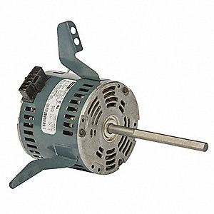 Condenser Fan Motor, Permanent Split Capacitor, IEC OEM Replacement Brand, 1- Phase, 1/4 HP