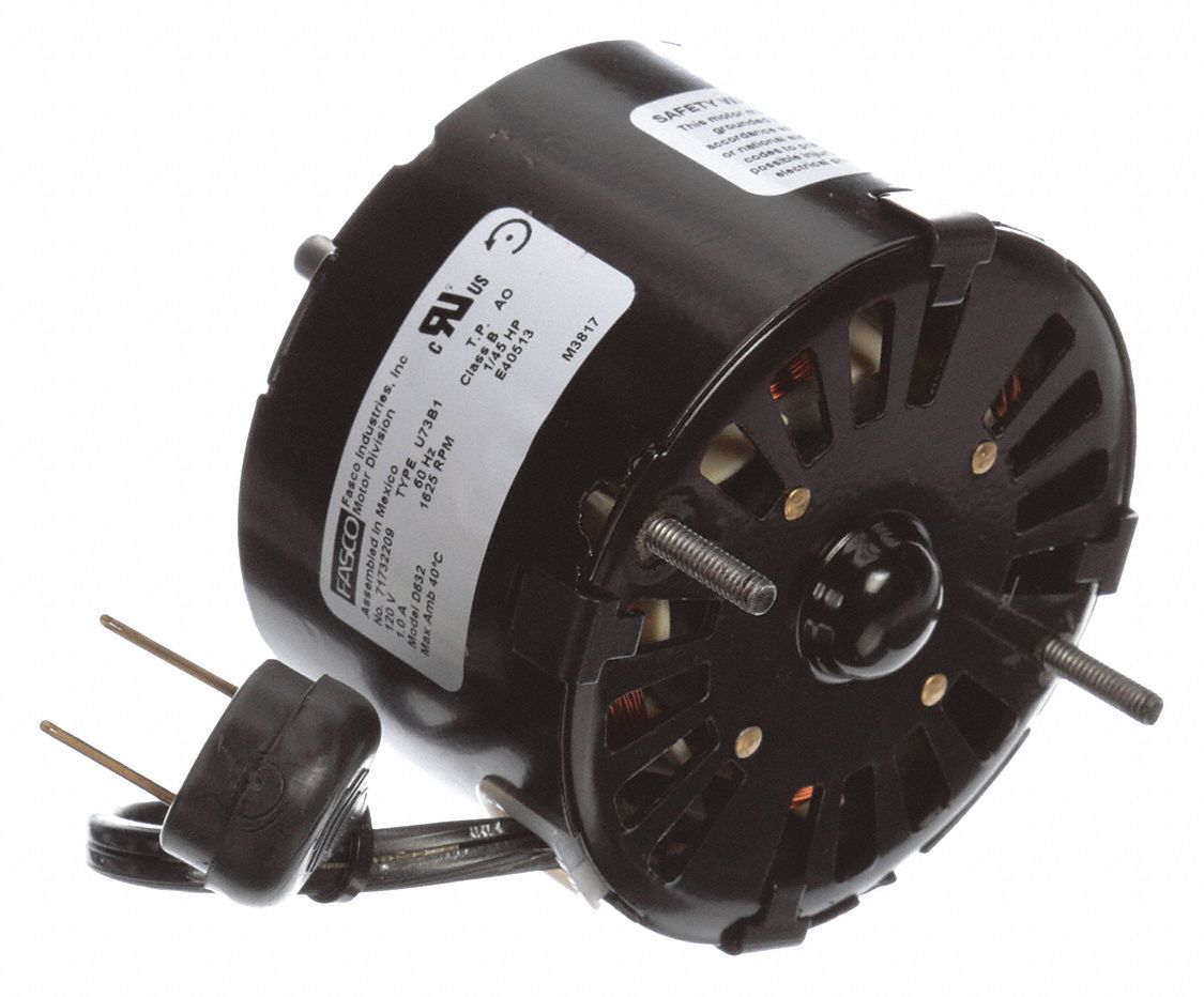 Condenser Fan Motor,  1/45 HP,  OEM Replacement Brand Broan,  Replacement For 99080345