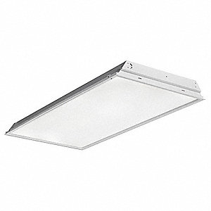 Recessed Troffer, LED Replacement For 2 Lamp LFL, 3500K, Lumens 4000,  Fixture Rated Life 50,000 hr