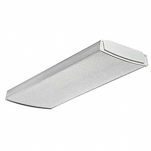 LED Wraparound Fixture,1x2,3500K