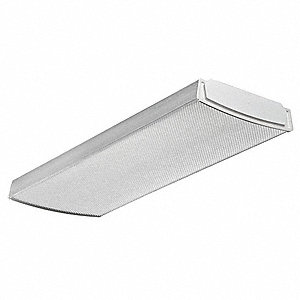 LED Wraparound Fixture,1x2,4000K