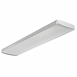 LED Wraparound Fixture,1x4,4000K