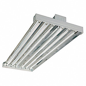 224W Fluorescent High Bay Fixture, 120 to 277VAC Voltage, Suggested Lamp Item No. 3VK30