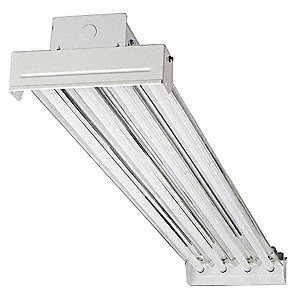 234W Fluorescent High Bay Fixture, 120 to 277V Voltage, Suggested Lamp Item No. 5AE35