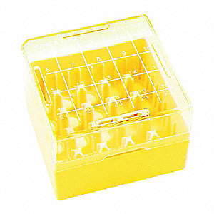 Freezer Box, Yellow, PK10