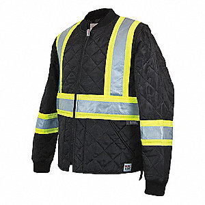 JACKET QUILTED SAFETY