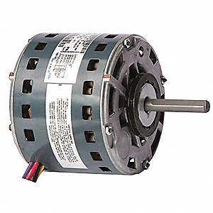 Direct Drive Blower Motor,1/3 HP,6 A