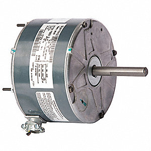 1/10 HP Direct Drive Blower Motor, Permanent Split Capacitor, 825 Nameplate RPM, 208-230 Voltage