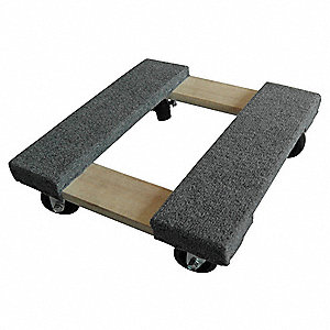 General Purpose Dolly,16x16,Carpeted