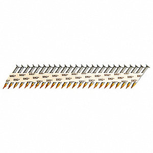 Metal Connector Nail,1-1/2 In,PK2000