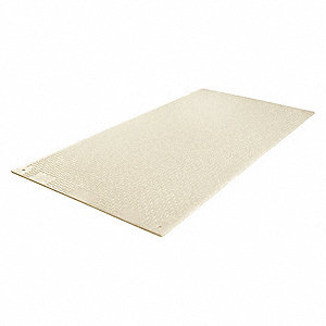 Ground Protection Mat, Medium Duty, 8 ft. L, 4 ft. W, Load Capacity: 240,000 lb., Clear