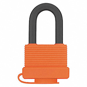 "Keyed Padlock,Alike,1-25/32""W"