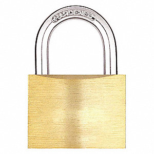 "Keyed Padlock,Different,1-37/64""W"