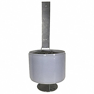"Acrylic Opaque Lens Bollard Light; For Use With 6"" Lighted Bollards"