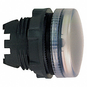 Pilot Light Head, 22mm, Lamp Type: LED