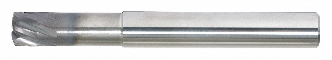Ball End Mill,  6.00 mm,  Carbide,  AlTiN,  Non-Coolant Through