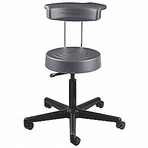 Stool,Yes Backrest,18 in. to 22-1/2 in.