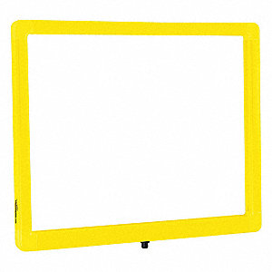 Sign Frame,Indoor/Outdoor,14in.Lx11in.H
