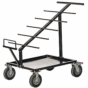 Wire Cart | Grainger Approved 50 L X 29 5 W X 42 H Black Wire Cart 1000 Lb