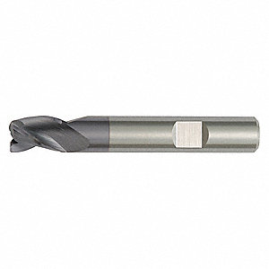 End Mill, 5.00mm Milling Diameter, Number of Flutes: 4, 6.00mm Length of Cut, TiAlN, DC03