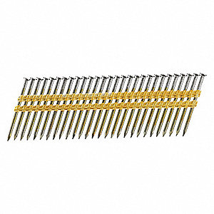 Framing Nails, 10.3 ga., 2-1/2 in.L, PK4000
