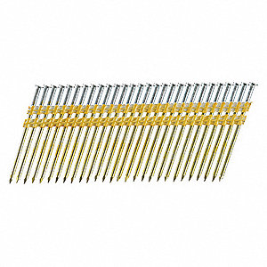 "Framing Nails,10.3 ga.,3-1/4"" L,PK4000"