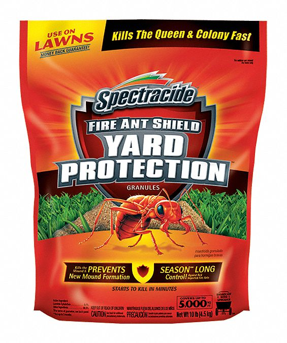 Spectracide Fire Ant Killer Granular 10 Lb Outdoor Only Lambda Cyhalothrin 48lr80 96472 Grainger