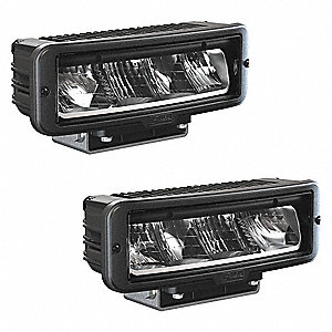 Headlight,2160 lm,2880 lm,Rectangle,LED