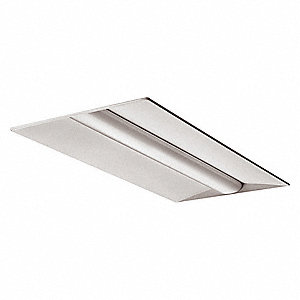 Recessed Troffer, LED Replacement For 3 Lamp T8, 4000K, Lumens 3300, Fixture Rated Life 50,000 hr.